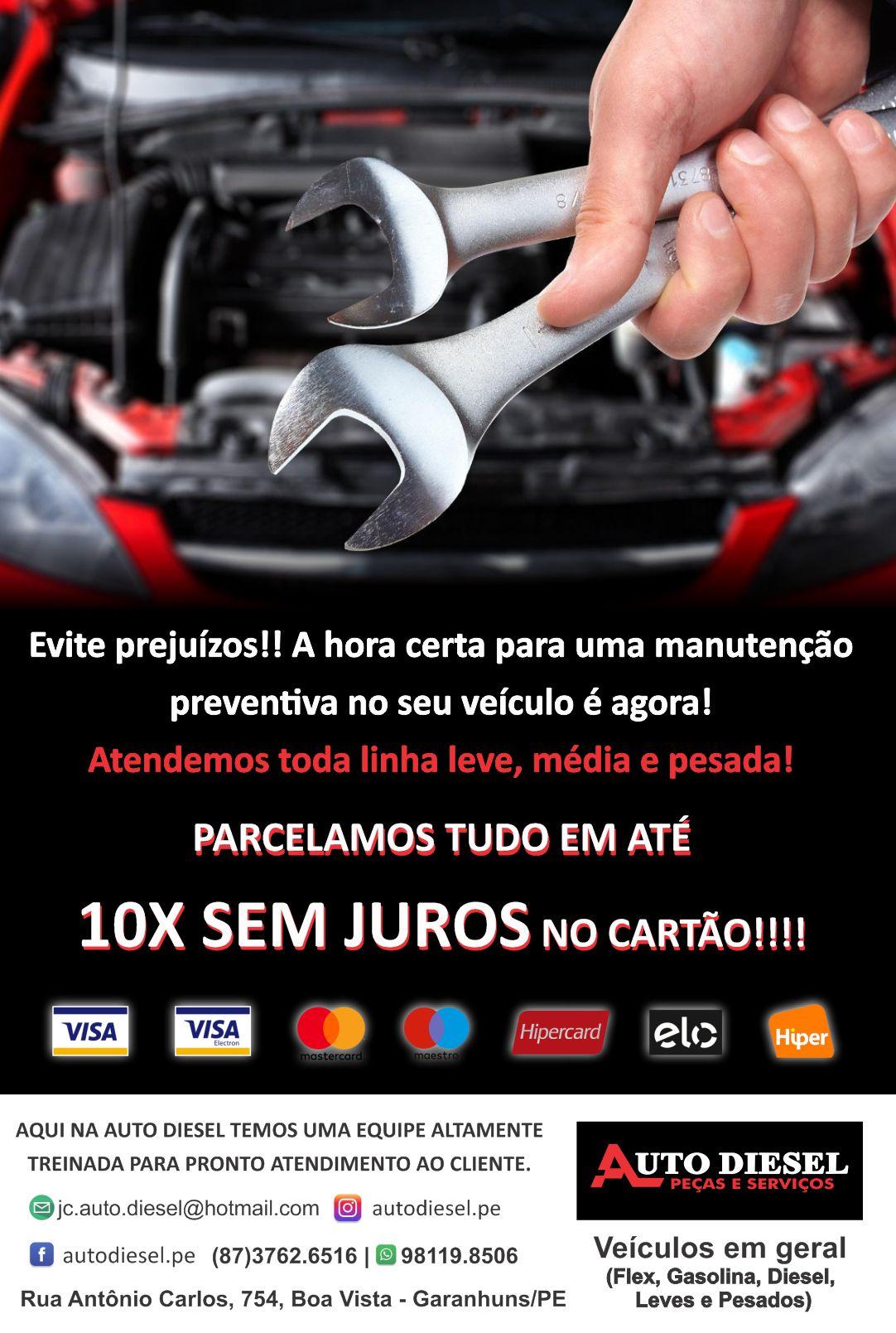 AUTO-DIESEL PEÇAS E SERVIÇOS