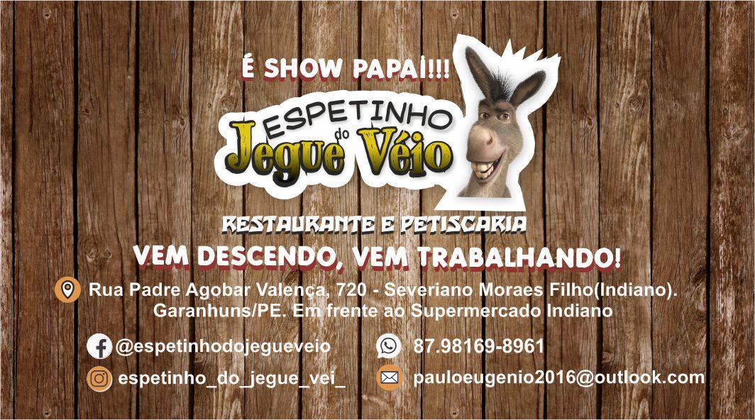 ESPETINHO DO JEGUE VÉIO